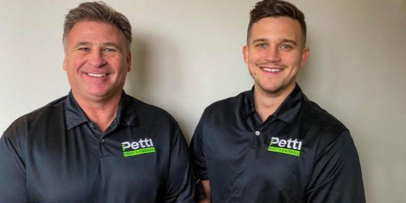 Father and son who own Petti Pest Control